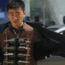 Un momento di tensione del film Fire of Conscience di Dante Lam