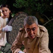 Una foto di scena tratta dal film giapponese Golden Slumber