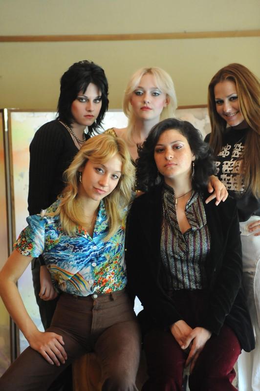 Un Immagine Del Gruppo Rock The Runaways Nell Omonimo Film 159172