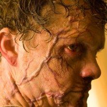 Un primo piano di un infetto: Curt Hammil (Justin Welborn) del film The Crazies