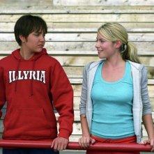 'Sebastian' (Amanda Bynes) e Olivia (Laura Ramsey) in una sequenza del film She's the Man