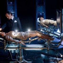 Gil Bellows ed Erica Durance nell'episodio Charade di Smallville