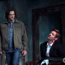 Jared Padalecki e Eric Johnson nell'episodio The Devil You Know di Supernatural