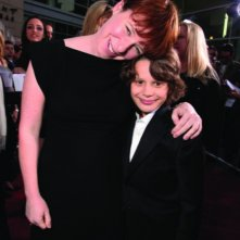 Julie Anne Robinson e Bobby Coleman alla première del film The Last Song all'ArcLight theater di Hollywood