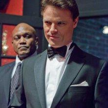 L'ex Procuratore Distrettuale Raymond Sacks (guest star Dylan Neal) nell'episodio Charade di Smallville
