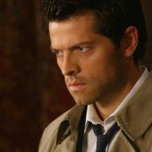 Misha Collins in un momento dell'episodio Point of No Return di Supernatural