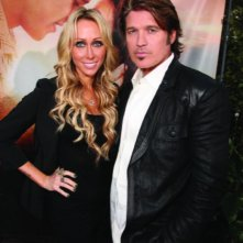 Tish Cyrus e Billy Ray Cyrus alla première del film The Last Song all'ArcLight theater di Hollywood