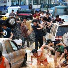 Un'immagine del film catastrofico Haeundae