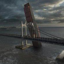 Una scena del blockbuster catastrofico coreano Haeundae
