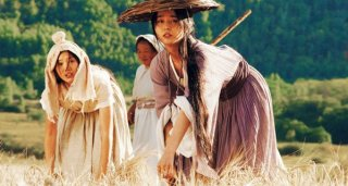 Una sequenza del film Wheat (Mai Tian) di He Ping.
