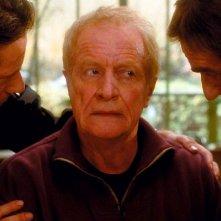 André Dussollier insieme a Mathieu Amalric e Michel Vuillermoz nel film Gli amori folli