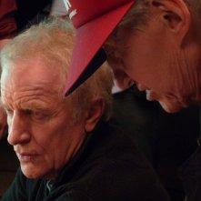 André Dussollier, protagonista del film Gli amori folli insieme al regista Alain Resnais