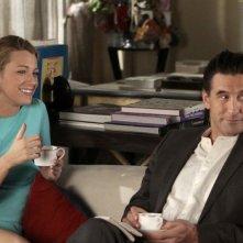 Blake Lively e William Baldwin nell'episodio It's a Dad, Dad, Dad, Dad World di Gossip Girl