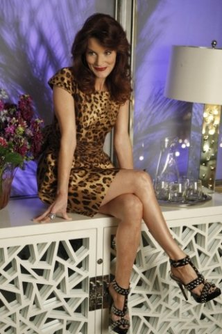 Melrose Place: Laura Leighton nell'episodio Wilshire