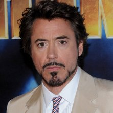 Robert Doney Jr. al photocall di Iron Man 2 a Los Angeles
