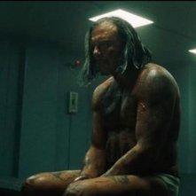 Un'immagine del corpulento Mickey Rourke dal film Iron Man 2