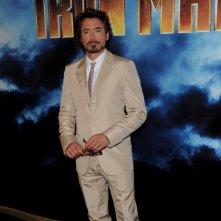 Un'immagine di Robert Doney Jr. dal photocall di Iron Man 2 a Los Angeles