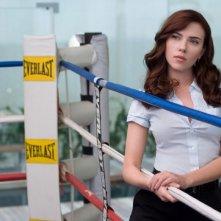 Un'immagine di Scarlett Johansson dal film Iron Man 2