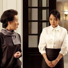 Due protagonisti del film The Housemaid diretto da  Im Sang-soo