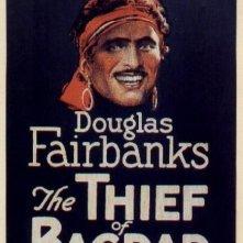 La locandina di Il ladro di Bagdad