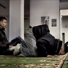Nader Sarhan in un'immagine del film Fratelli d'Italia