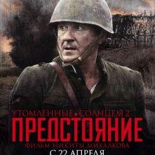 Un character poster per il war drama russo Utomlyonnye solntsem 2