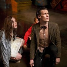 Doctor Who: Karen Gillan e Matt Smith nell'episodio The Beast Below