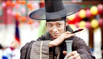 Una scena del fantasy coreano Woochi.