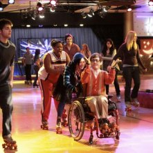Una scena dell'episodio Home di Glee