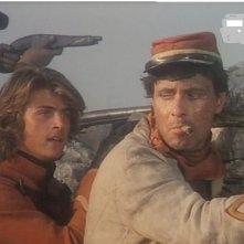 Antonio Orfanò accanto a Kim Rossi Stuart nel film di Luigi Magni Garibaldi - Il Generale