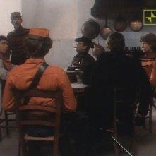 Antonio Orfanò con Kim Rossi Stuart e Antonio Marsina in una scena del film Garibaldi - Il Generale
