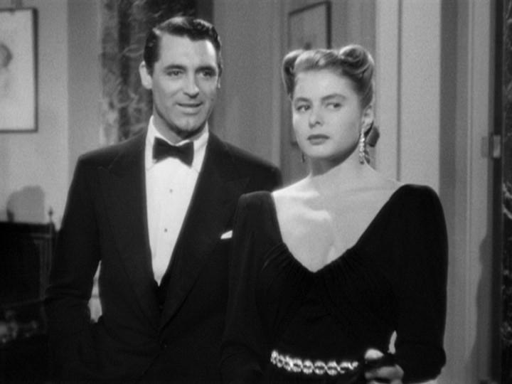 Cary Grant E Ingrid Bergman Sono I Protagonisti Del Film Notorious L Amante Perduta 160224
