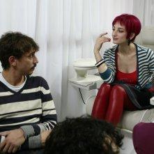 Corrado Fortuna e Francesca Inaudi nell'episodio Il mare d'inverno di Tutti pazzi per Amore 2