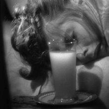 Ingrid Bergman in una celebre scena del film Notorious - L\'amante perduta