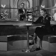 Ingrid Bergman in una scena del film Notorious - L\'amante perduta (1946)