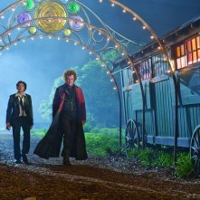 John C. Reilly e Chris Massoglia in una scena del film Aiuto Vampiro