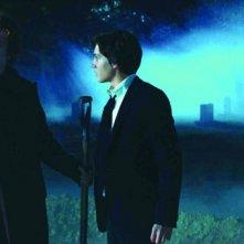 John C. Reilly e Chris Massoglia in una sequenza del film Aiuto Vampiro