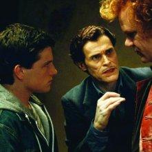 Josh Hutcherson, Willem Dafoe e John C. Reilly in una scena del film Cirque du Freak: The Vampire's Assistant (2009)