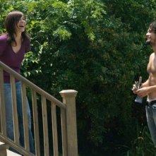 Julianna Margulies e Steven Strait in un'immagine della commedia City Island
