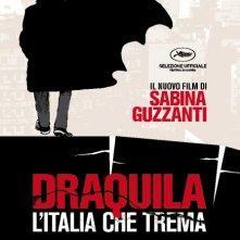 Locandina ufficiale del film Draquila - L'Italia che trema di Sabina Guzzanti