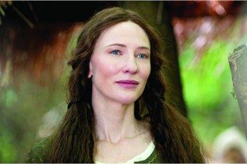 Primo piano di Cate Blanchett dal film Robin Hood (2010)