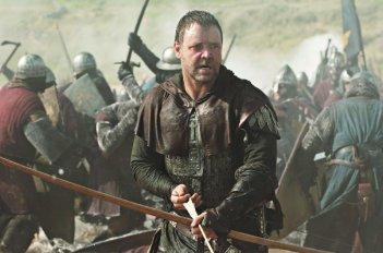 Russell Crowe in un'immagine del film Robin Hood
