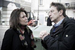 Sabina Guzzanti in un'immagine del film Draquila - L'Italia che trema