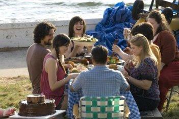 Un'immagine della pazza famiglia dei Rizzo, protagonista della commedia City Island
