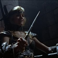 Hudson Leick in Xena e il ritorno di Callisto, episodio di Xena principessa guerriera