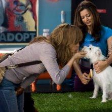 Jennifer Lopez e Noureen DeWulf nella commedia Piacere, sono un po' incinta