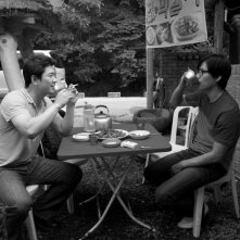 Una scena del film Hahaha di Hong Sang-soo