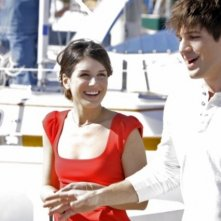 90210: Shenae Grimes e Matt Lanter in un momento dell'episodio Confessions