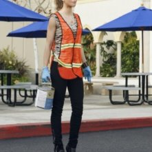 AnnaLynne McCord in una scena dell'episodio Multiple Choices di 90210