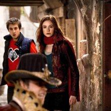 Doctor Who: Arthur Darvill e Karen Gillan nell'episodio Vampires of Venice